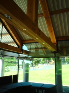 Beams side to play park